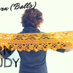 Let's Do a Yarn Study: Alternatives to Wool Blends for Crochet Shawls