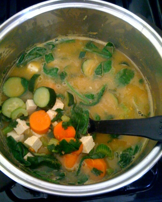 Vegetable souo