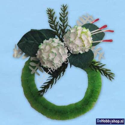 kransje-met-hortensia-donker-groen