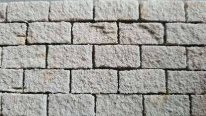 witte steenstrips