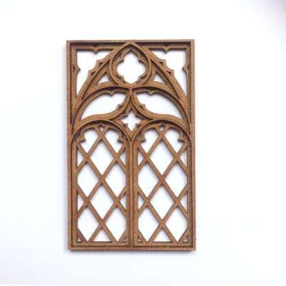 miniature gothic tracery window kit