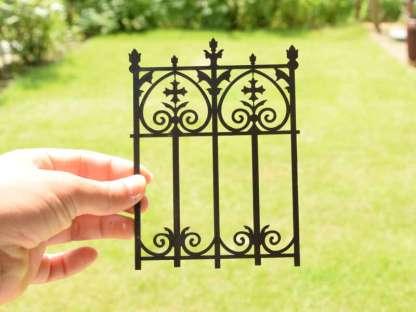 miniature fence panel