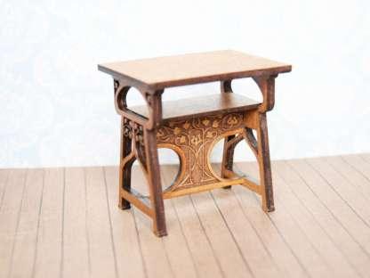 art nouveau mniature table