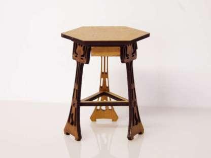 miniature art nouveau table