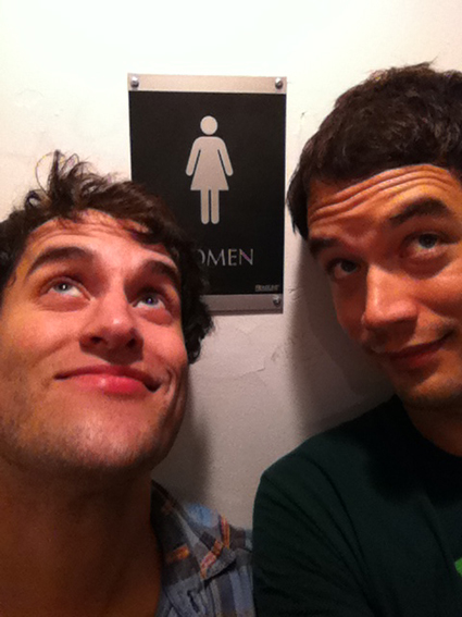 Chris and Matt