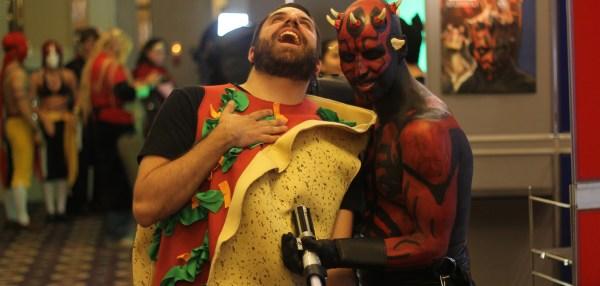 Saskatoon Blitz!: Taco Man vs Darth Maul