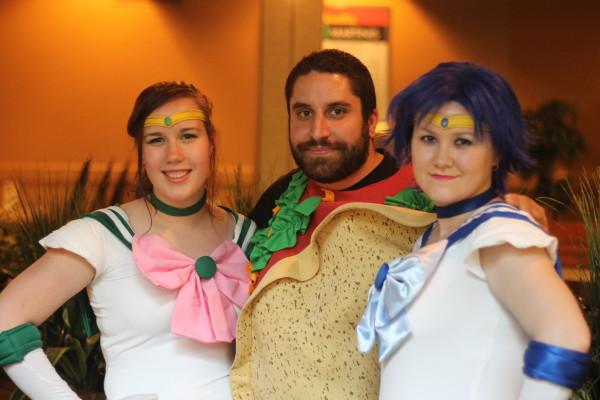 Saskatoon Blitz!: Taco Man & Sailor Moon
