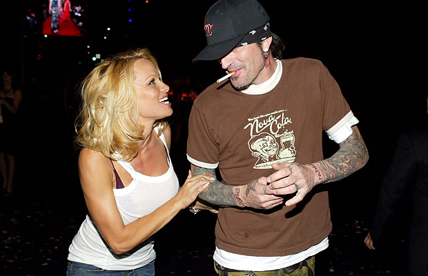 pamela and tommy lee