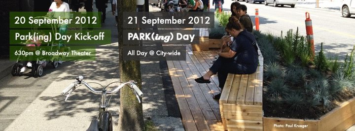 Saskatoon Park(ing) Day