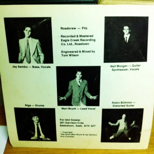 The Idols vinyl