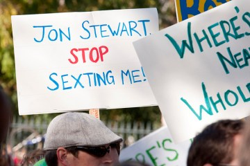 jon stewart sext