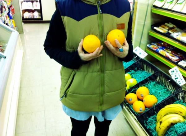 Sev grocery run