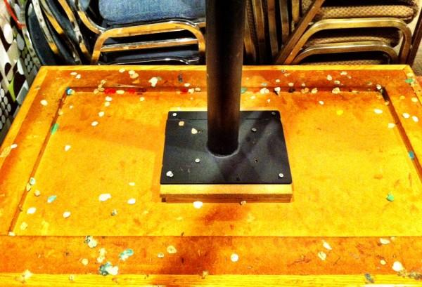 gum table