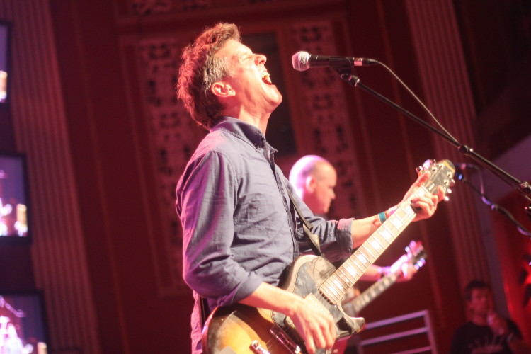 Superchunk playing during the 2013 edition of Sled Island