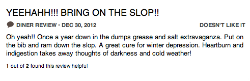 bring on slop