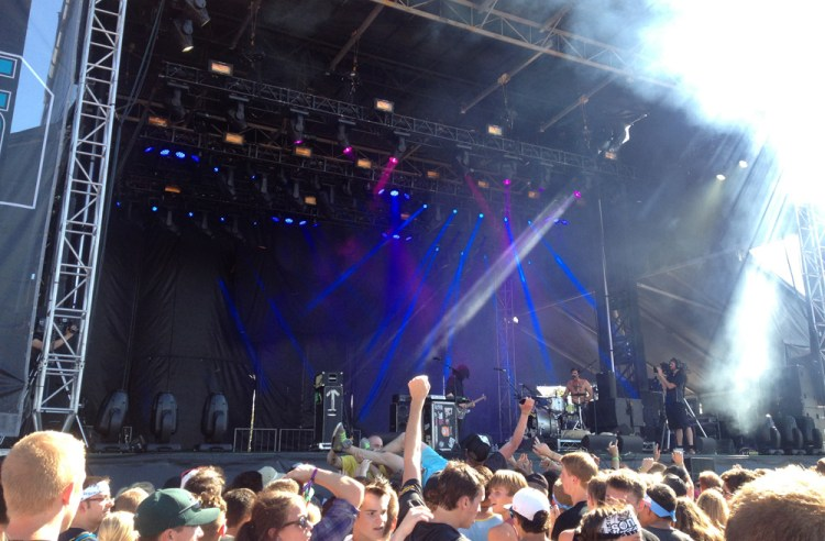 Death From Above 1979 at Sonic Boom Festival