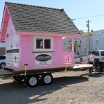 Pink House at Saskatoon Park(ing) Day