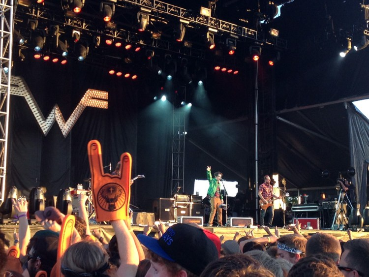 Weezer at Sonic Boom Festival