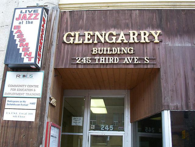 the bassement glengarry