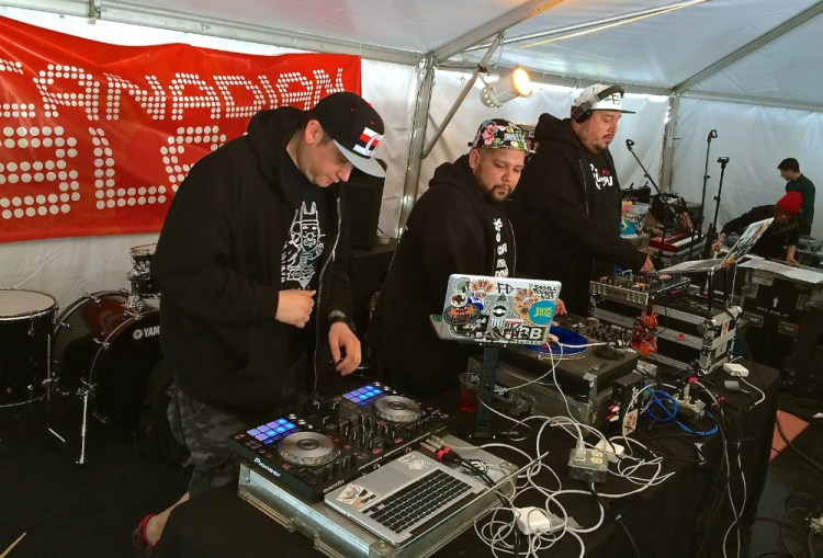 SXSW pictures A Tribe Called Red