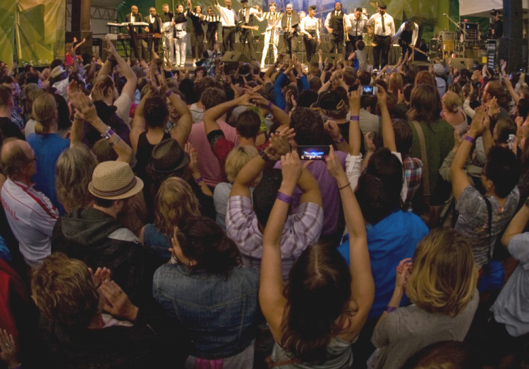 audience crowd