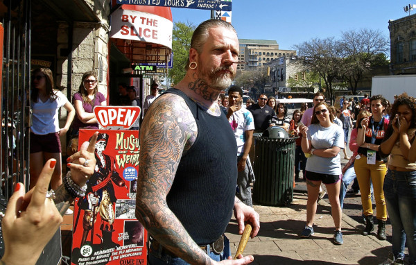 sxsw pictures nail in head guy 2