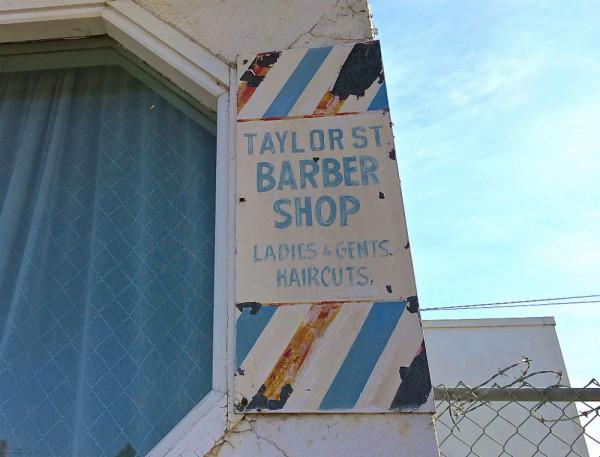 taylor street barber