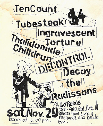 tencount, thalidomide children, radissons at Le Relais 1997