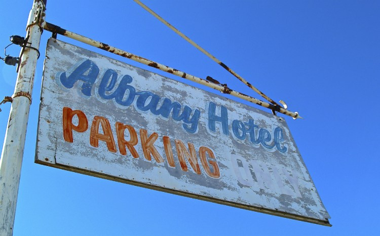 albany hotel parking