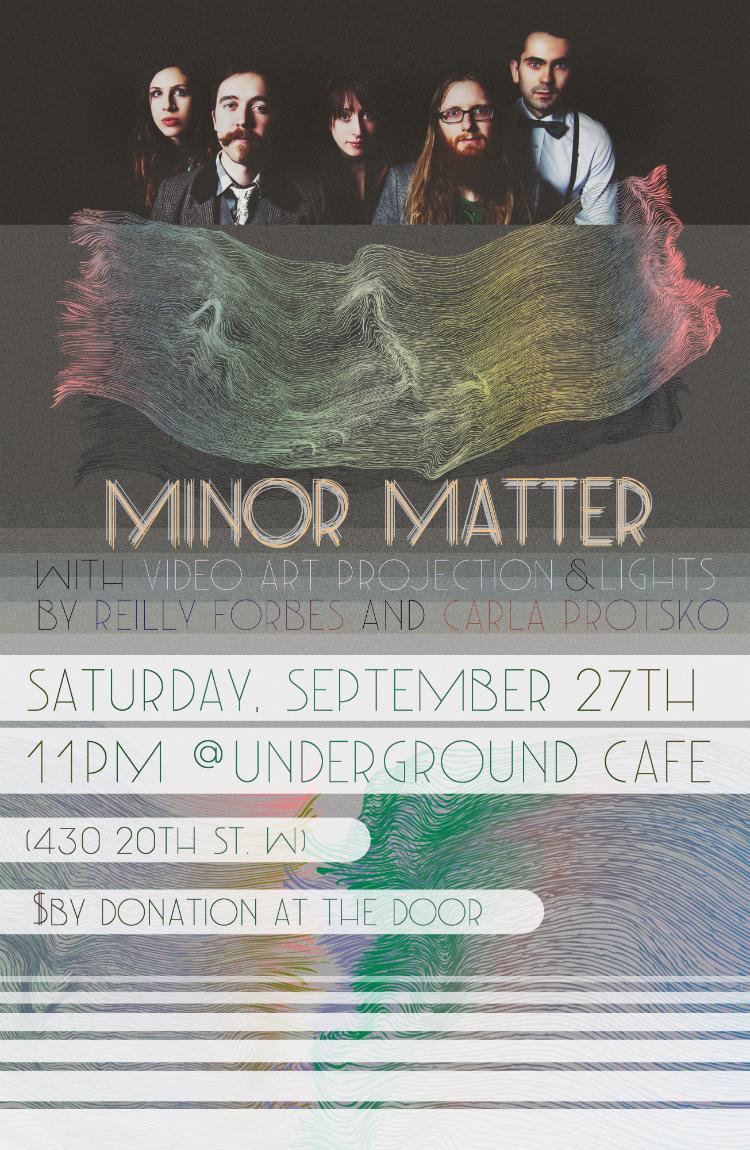 Minor Matter POSTER