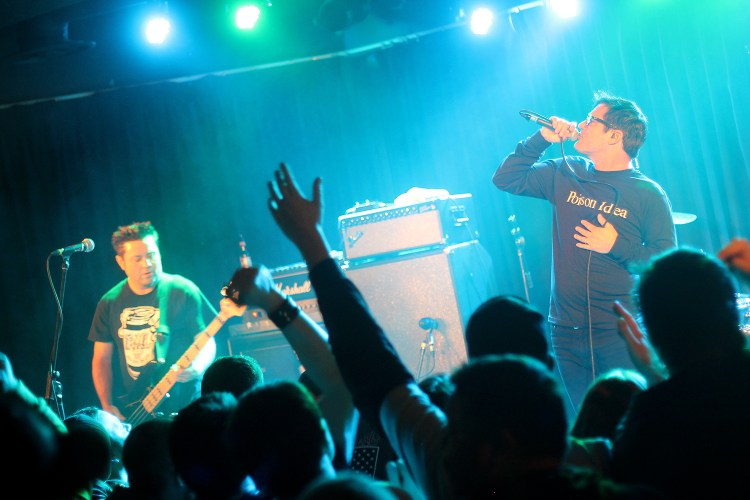 Lagwagon at Louis' in Saskatoon