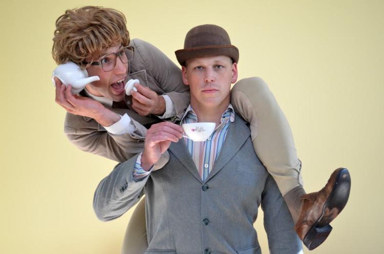 James & Jamesy in High Tea