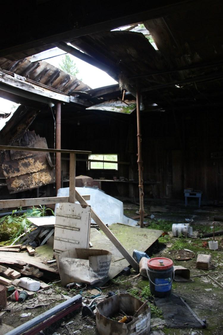 former garage
