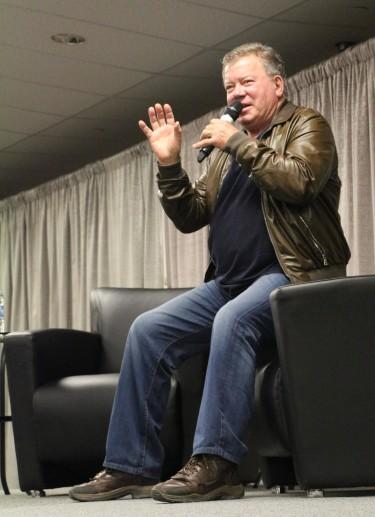 William Shatner (Photo courtesy of Sask Expo)