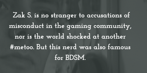missing stair and bdsm and gaming