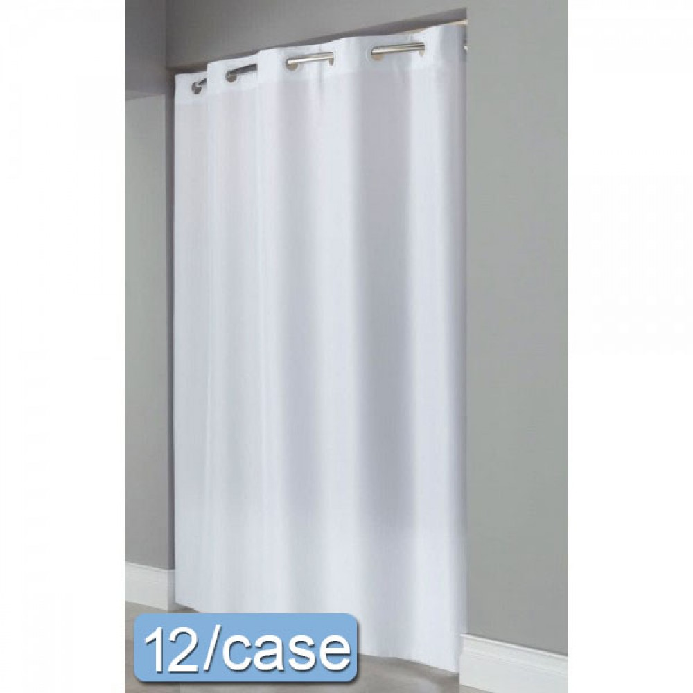 what is a hookless shower curtain