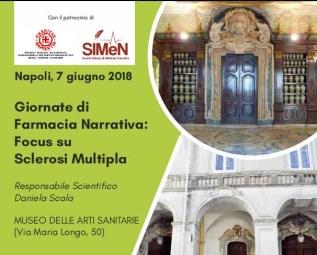 Napoli, giornate di Farmacia Narrativa: focus sclerosi multipla