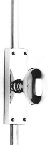 Item No.432CR (Knob Cremone Bolt Set - Solid Brass )