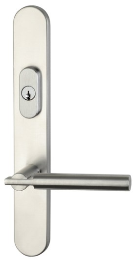 Item No.73025 (Modern Multipoint Trim - Stainless Steel)