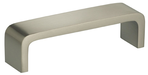 Item No.9006/96 (Modern Cabinet Pull - Solid Brass) in finish US15 (Satin Nickel Plated, Lacquered)