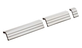 Item No.9453 (Modern Cabinet Pull - Solid Stainless Steel) in finish US32D (Satin Stainless Steel)