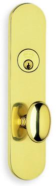 Item No.D3432 (Exterior Traditional Deadbolt Entrance Lever Lockset - Solid Brass )