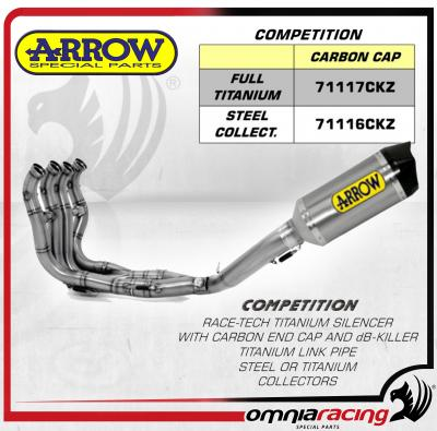 arrow competition race tech full titanium full exhaust system for bmw s1000rr abs 2009 2012 09 12
