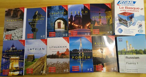 My new language courses