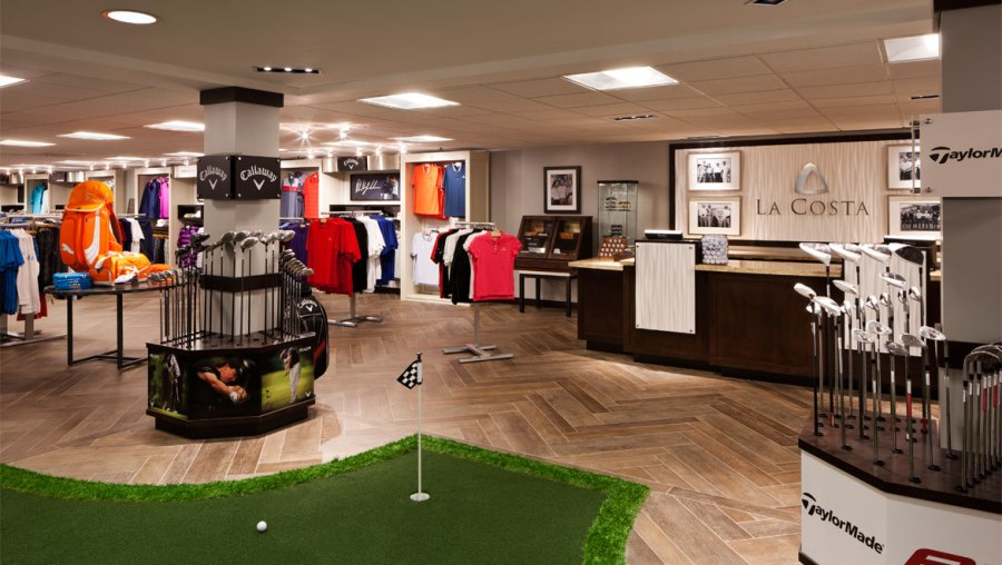 Carlsbad Shopping   Omni La Costa Resort   Spa La Costa golf pro shop