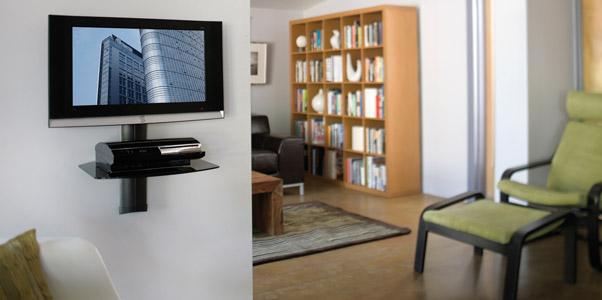 Mounts Wall Full Motion Shelves Tv