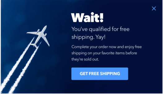 bigcommerce abandoned cart incentive