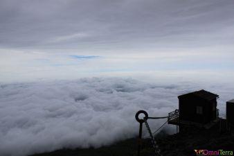 Japon - Mont Fuji - 8e station - Panorama