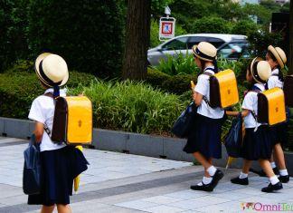 Japon - Tokyo - Ecolières