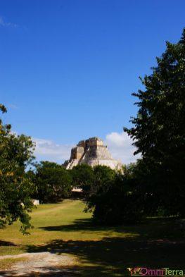 Mexique - Merida - Uxmal - Pyramide
